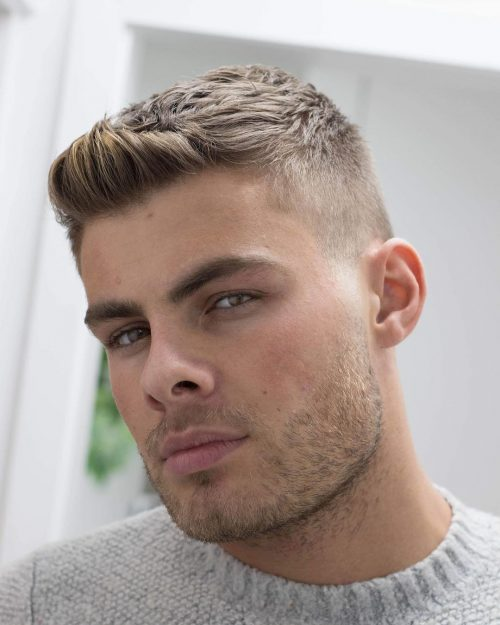 Top 14 Modern Stylish Crew Cut Hairstyles For Men Pics