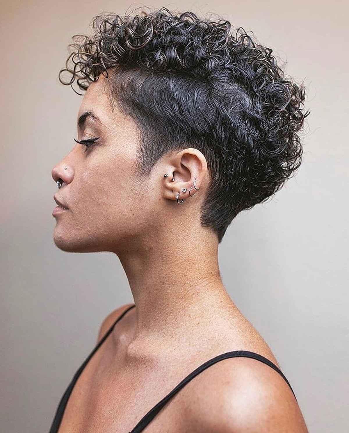 3 Cute Curly Pixie Cut Ideas for Girls with Curly Hair