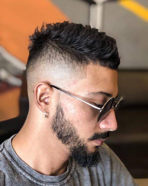 15 Best Faux Hawk Fade Haircuts For Men In 2020