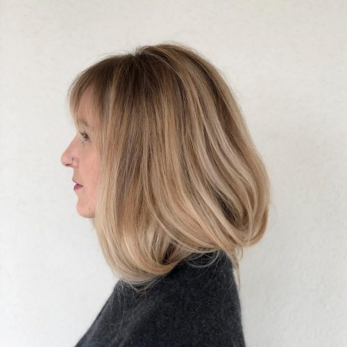 Picture of the softest faux bob