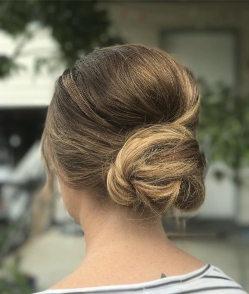 24 completely easy long hair updos for you to try the messy bun hairstyle pmusecretfo Choice Image