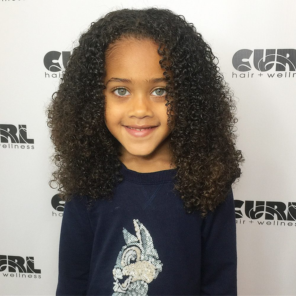 21 Easy Hairstyles for Girls with Curly Hair - Little Girls ...