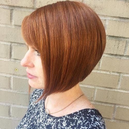 25 hairstyles that will make you want short hair with bangs timeless bob with bangs hairstyle urmus Image collections