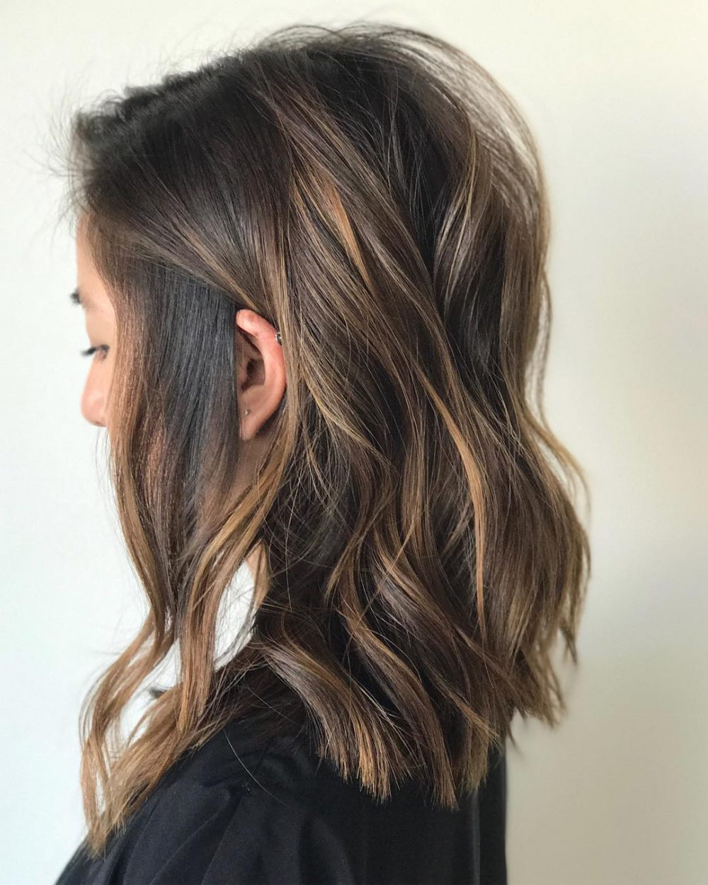 Tousled & Effortless hairstyle