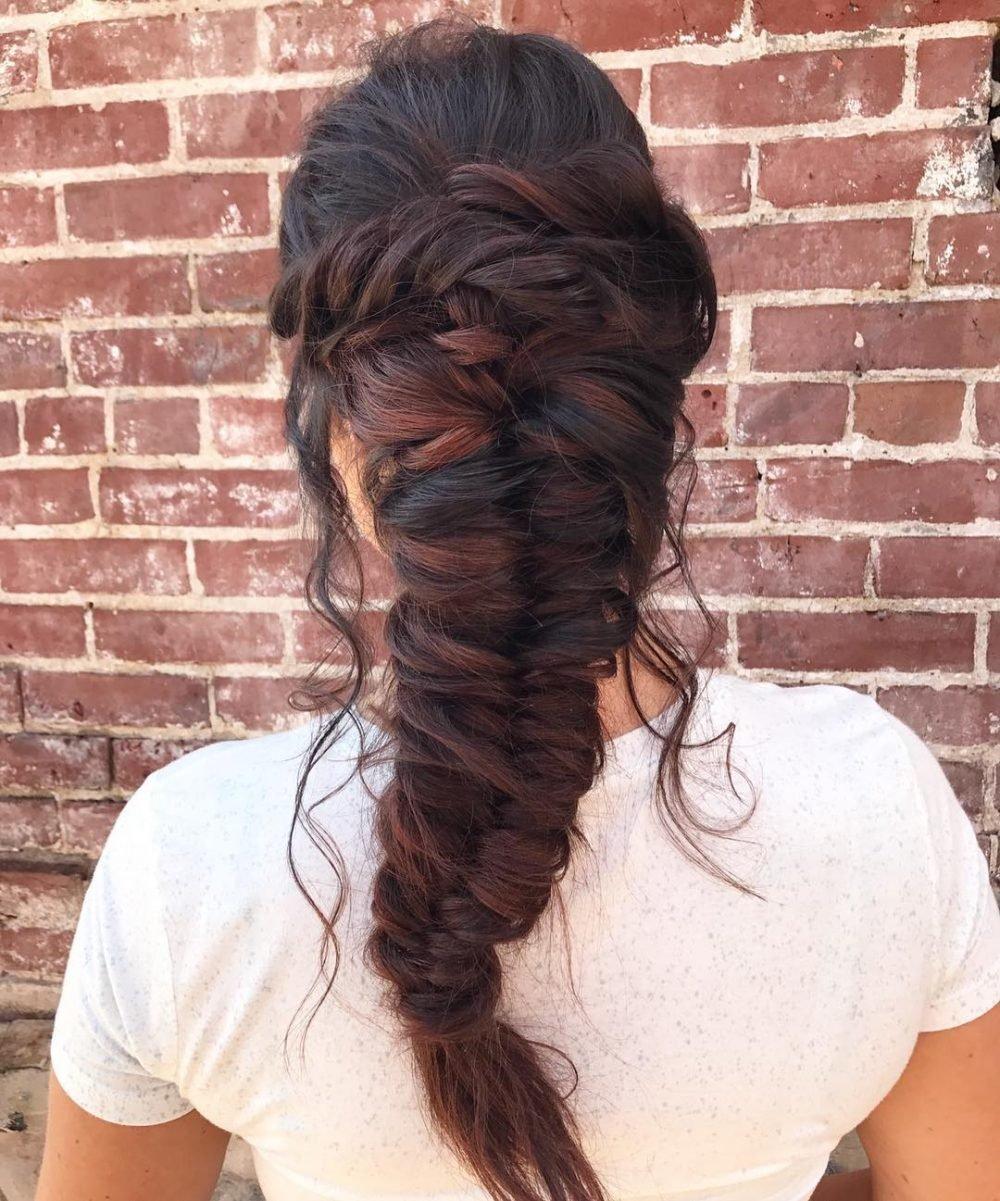 Tousled Bohemian Goddess hairstyle