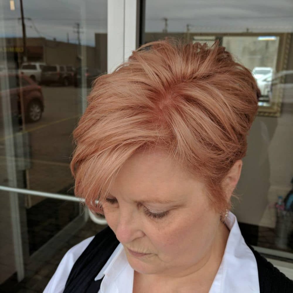 39 Youthful Short Hairstyles For Women Over 50 With Fine Thick Hair