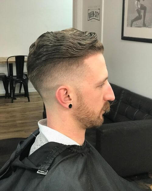 traditional pompadour for men