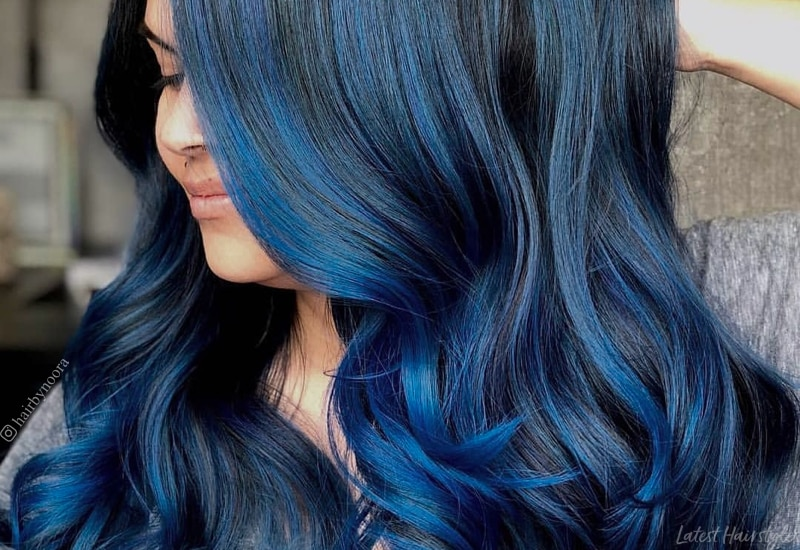 Dark Blue Hair How To Get This Darker Hair Color In 2020
