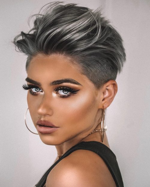 The 20 Coolest Undercut Pixie Cuts Found For 2020