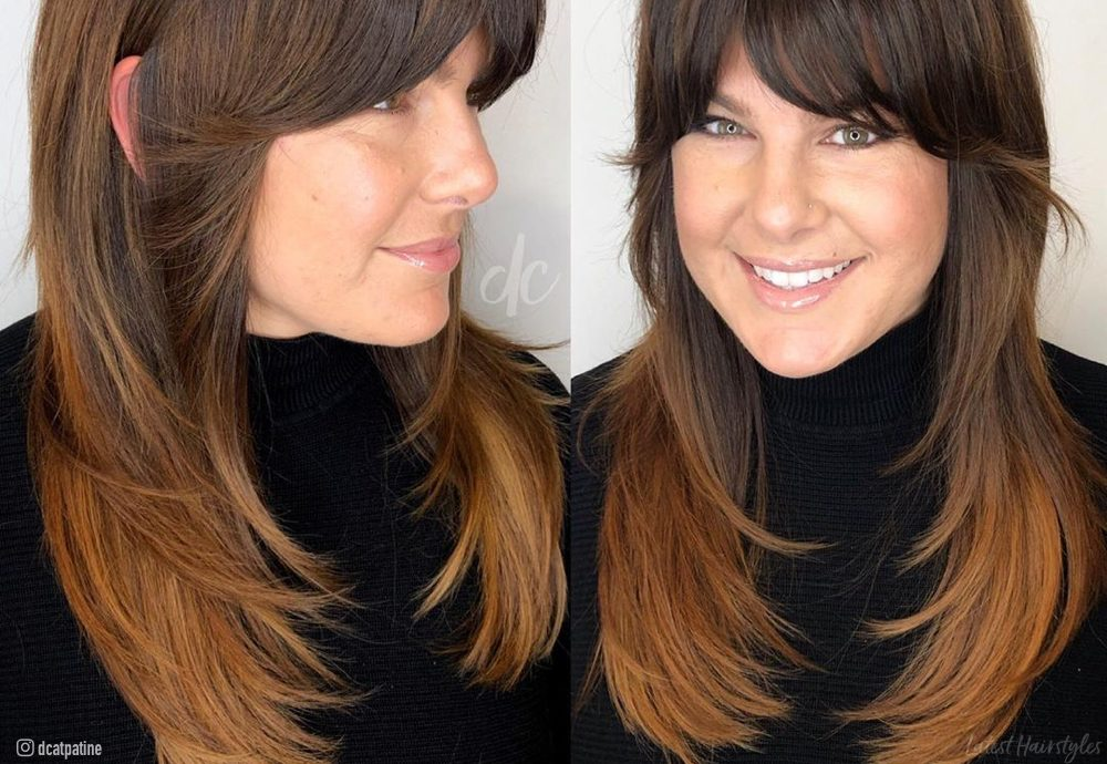 Short Layers On Long Hair 13 Examples Of This Hot Trend