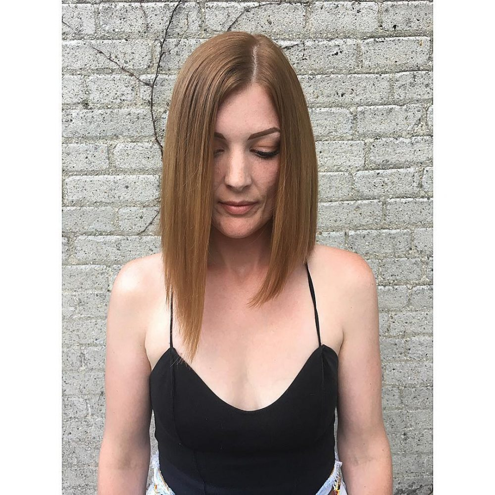 28 cute hairstyles for medium length hair popular for 2018 trendy take on a classic hairstyle winobraniefo Choice Image