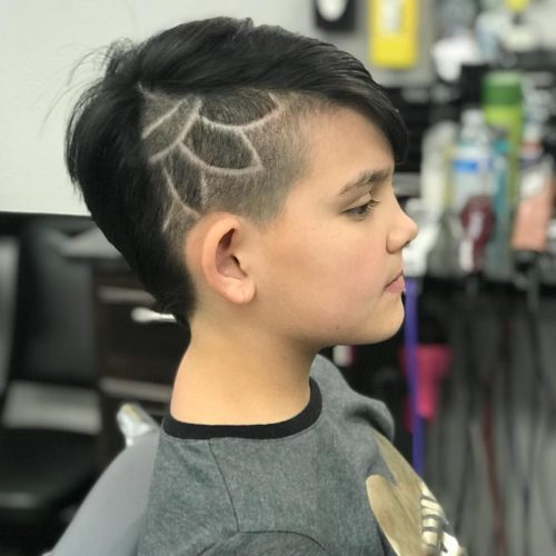 Trendy Undercut with Design