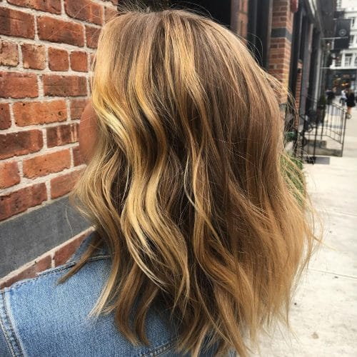 Trendy Undone Waves hairstyle
