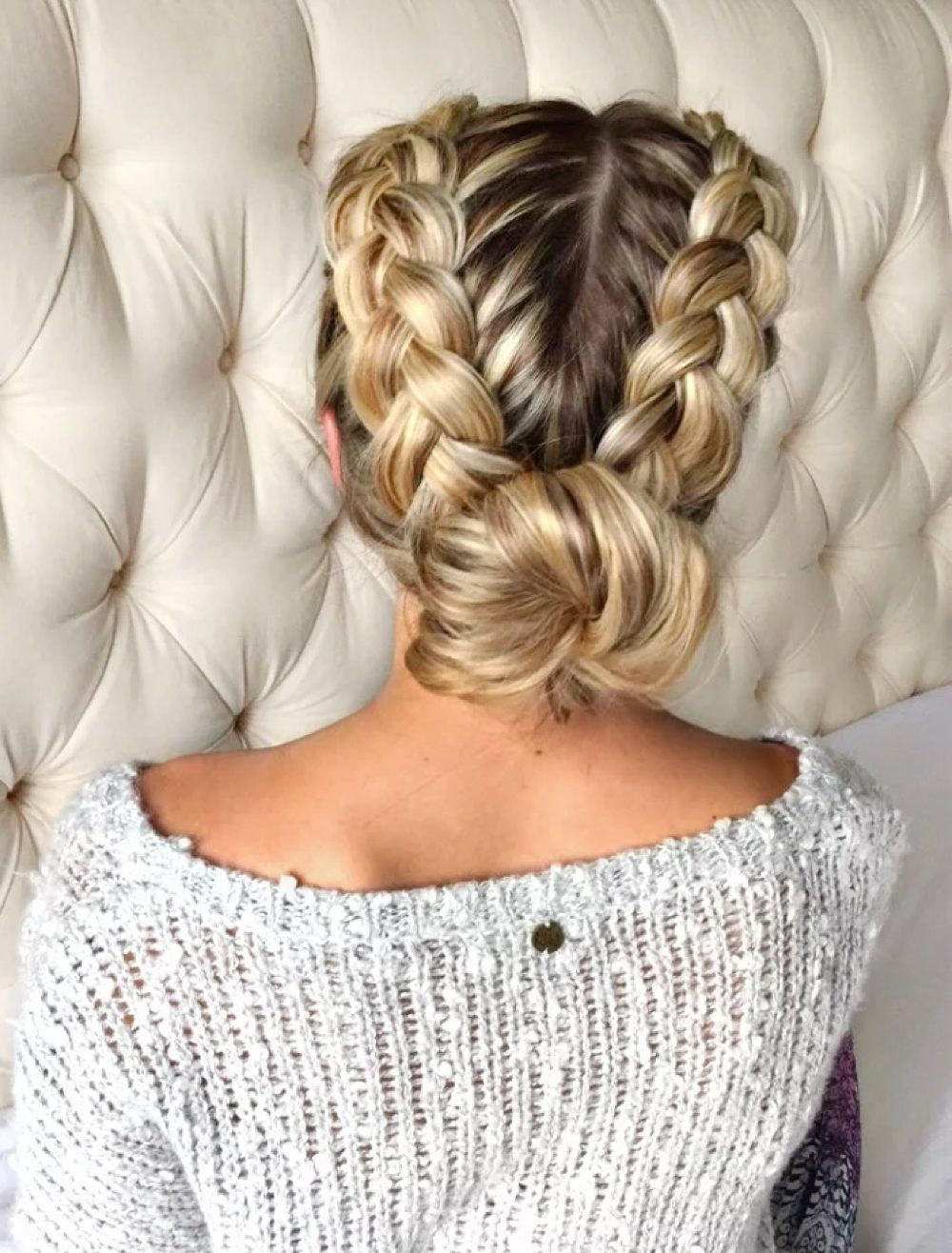 25 gorgeous braided updos you must try pmusecretfo Gallery