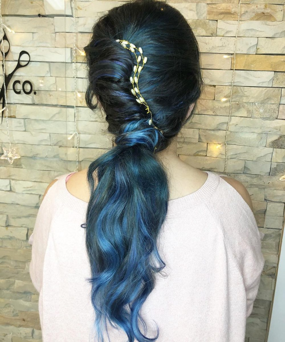 Twist of Glam hairstyle