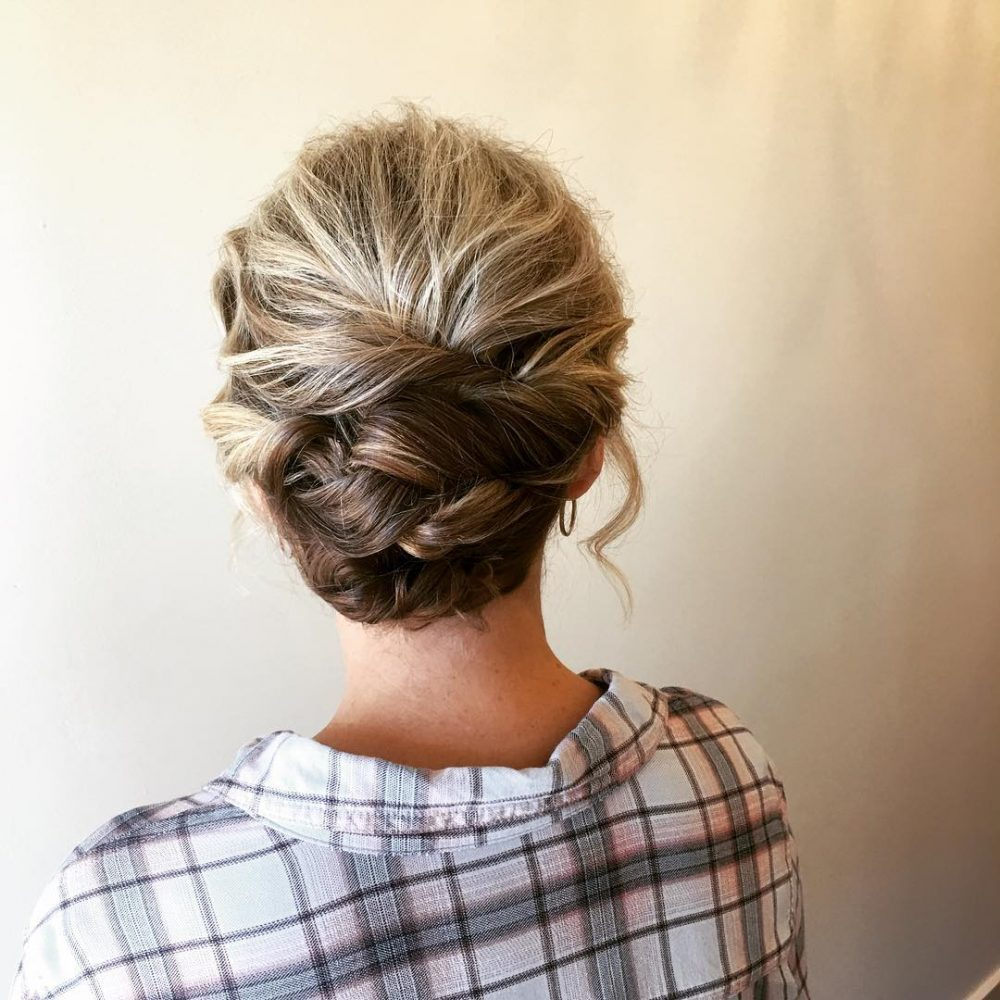 24 Cutest Updos For Short Hair Of 2018 Latest Hairstyles