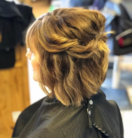 Mother Of The Bride Hairstyles: 26 Elegant Looks For 2020