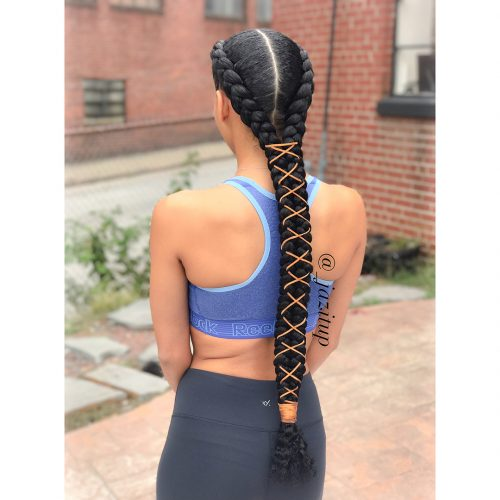 23 New Feed In Braids For 2019 2 3 4 5 6 Strands