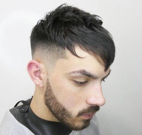 Peinado recortado