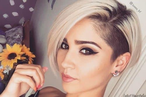 18 Raddest Undercut Hairstyles For Women In 2019