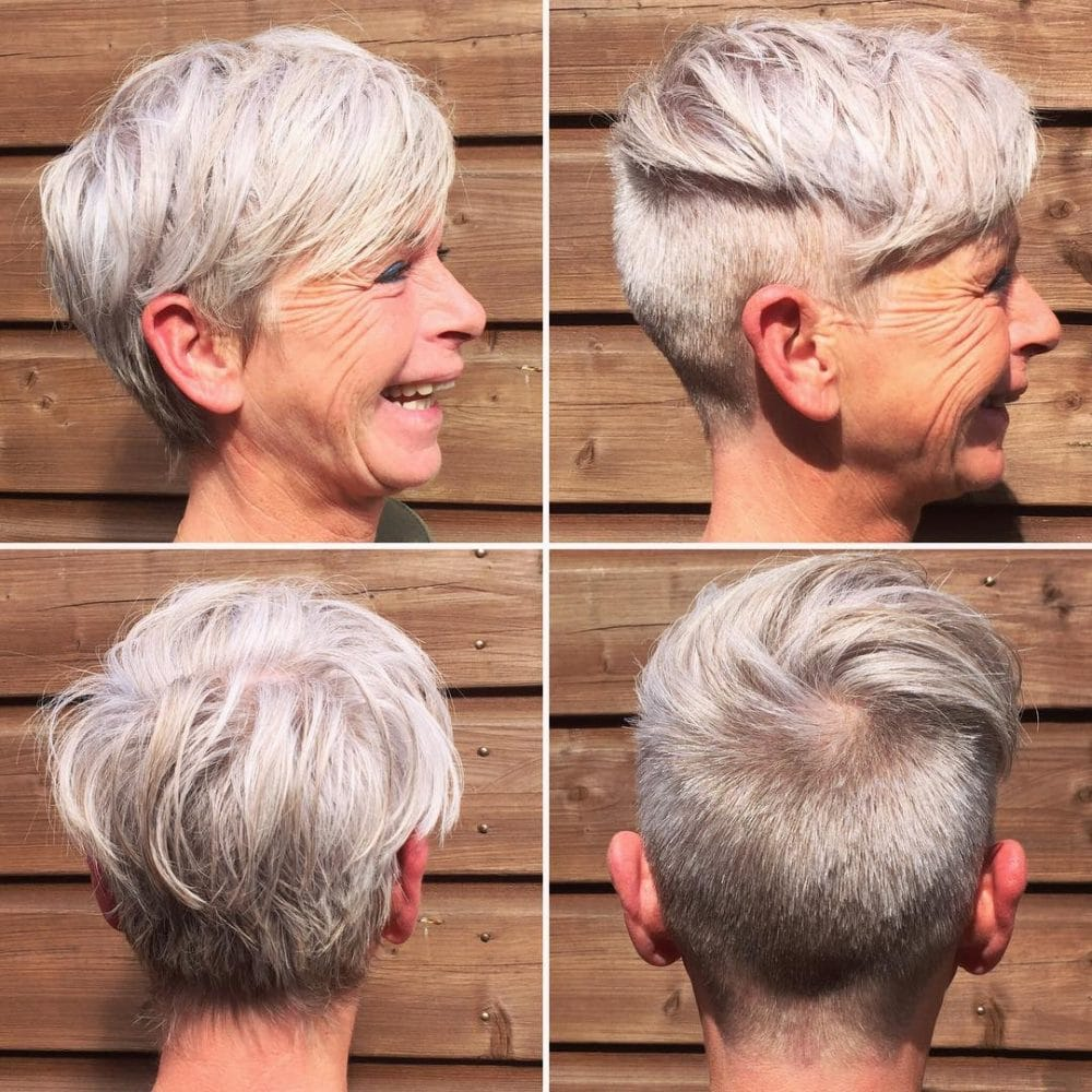43 Youthful Short Hairstyles For Women Over 50 With Fine