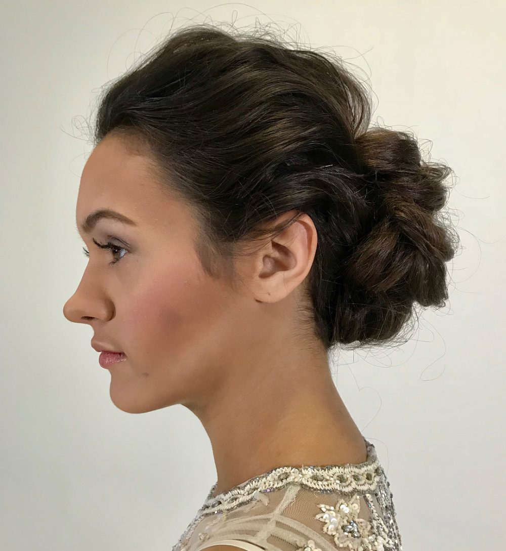 Undone Done hairstyle