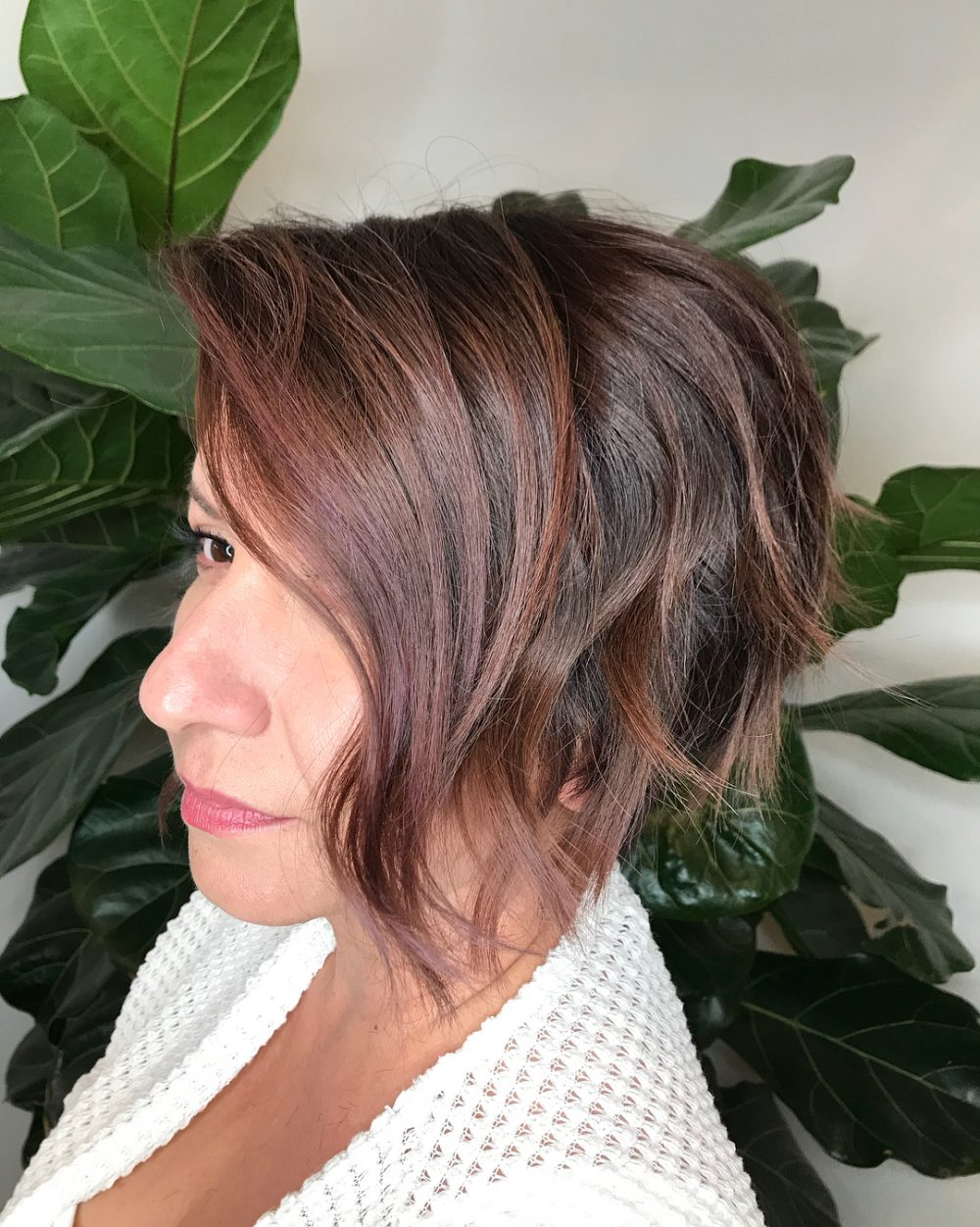 Undone Texture hairstyle