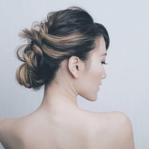 Undone Updo hairstyle