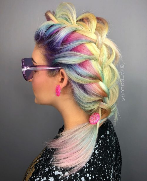 47 Very Edgy Hairstyles You Ll See In 2019