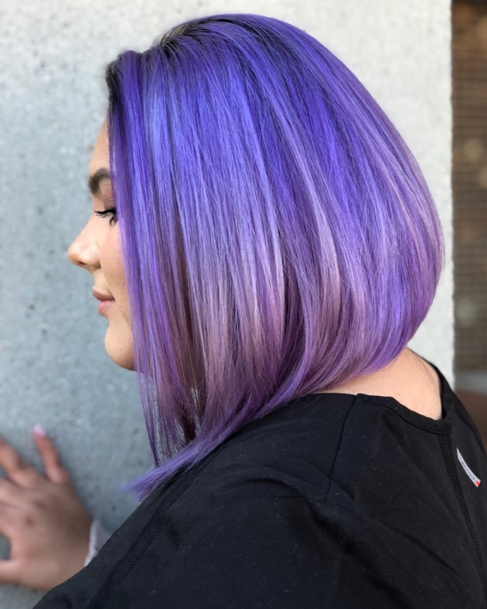 Unicorn Lob hairstyle