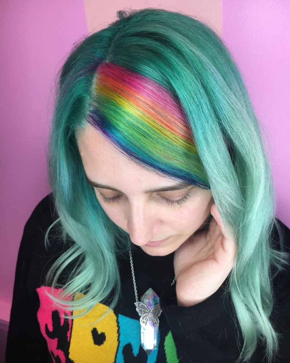 Unicorn of the Sea hairstyle
