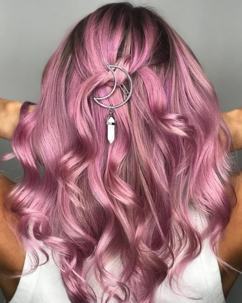 31 Pink Hair Color Ideas Trending in 2019