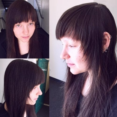 Uniquely Simple hairstyle