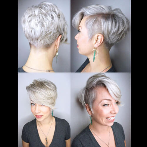 unstructured pixie cut