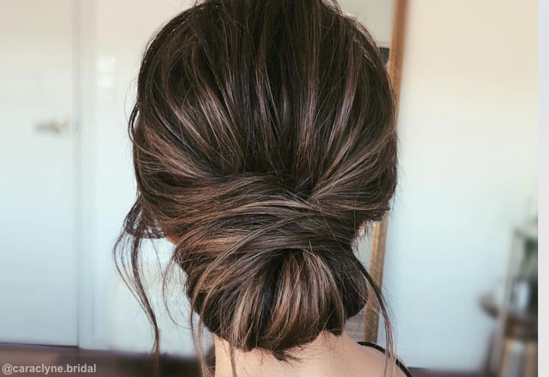 updo styles for shoulder length hair 25 most beautiful updos for medium length hair new for 2018 8875
