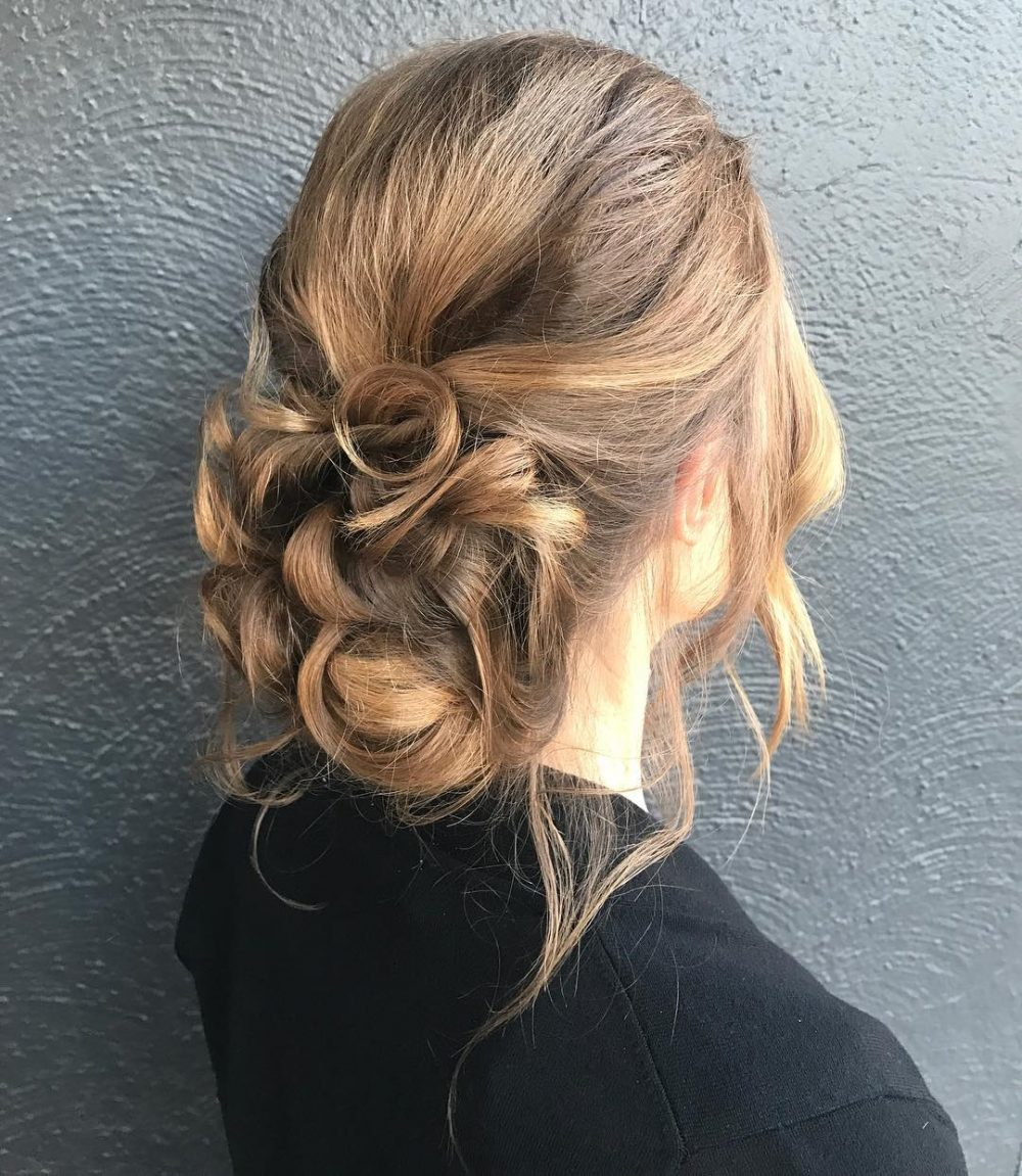 Versatile and Soft Updo hairstyle