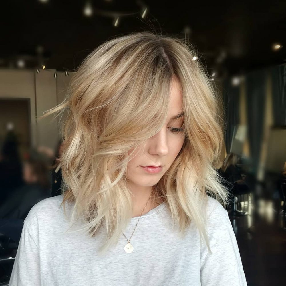modern shag haircut 24 medium hairstyles for oval faces you gotta see 1049