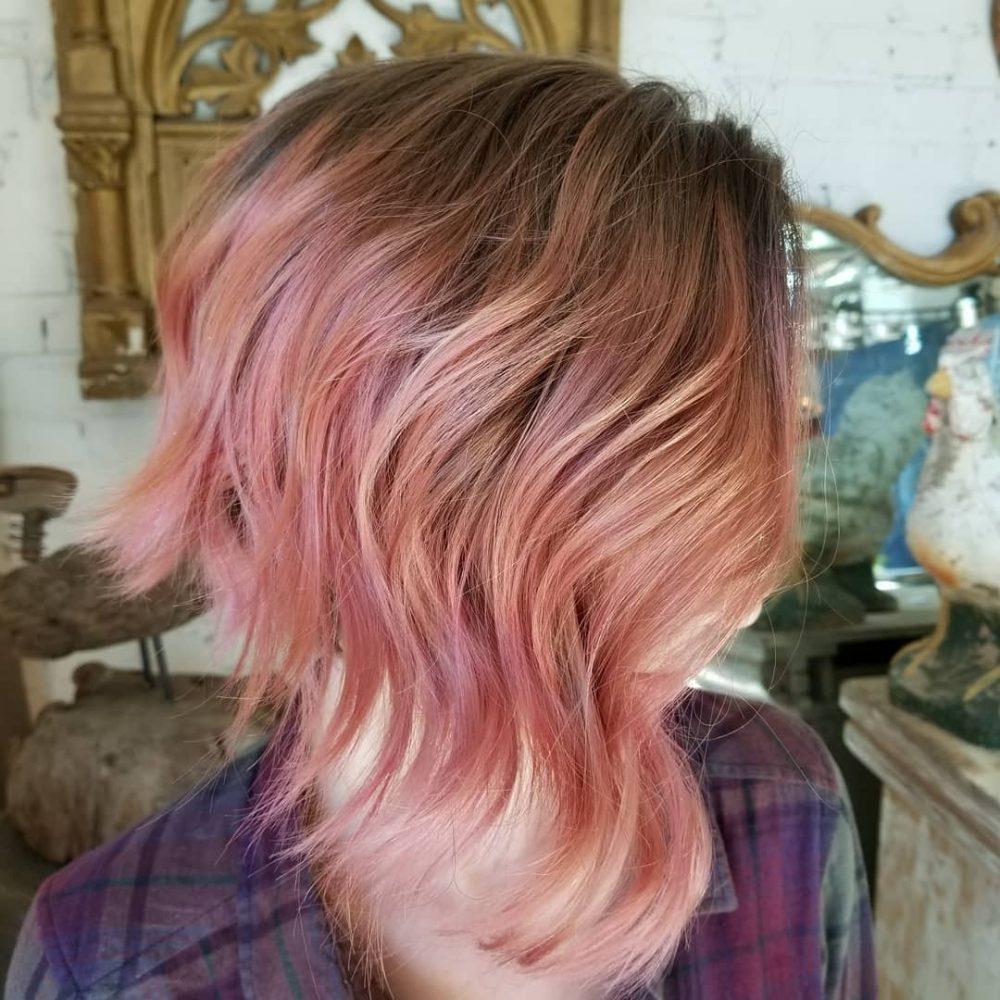 Versatile Texture hairstyle