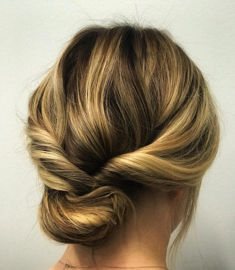 Versatile Twisted Updo hairstyle