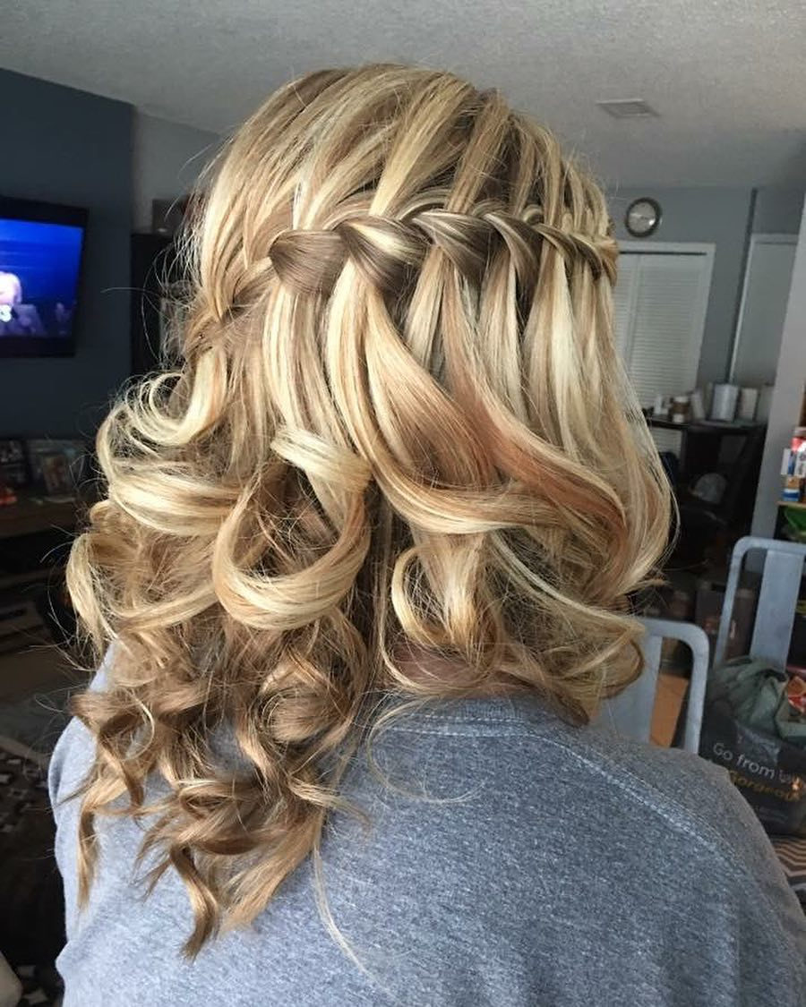 Versatile Waterfall Braid. Versatile Waterfall Braid hairstyle
