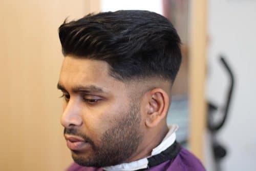 Versatile Pompadour hairstyle