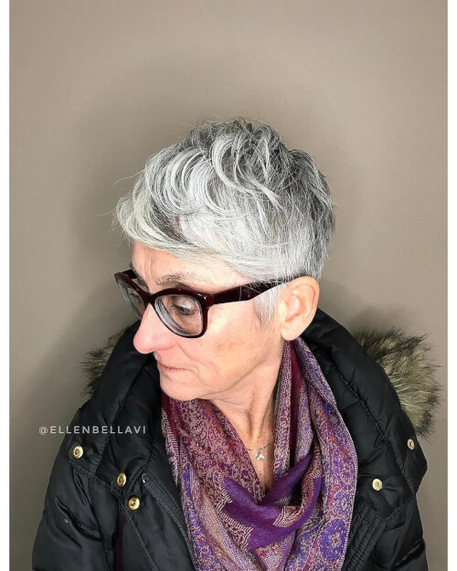 versatility pixie woman over 50
