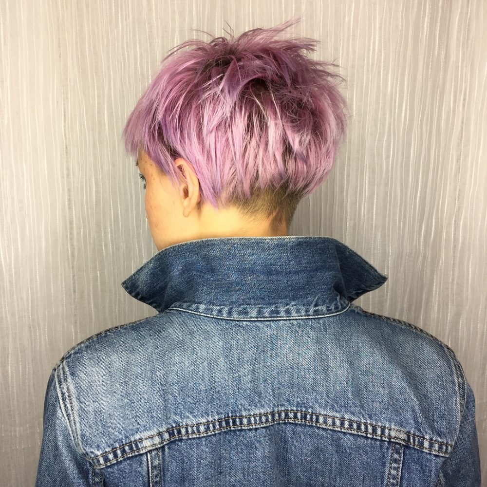 Vibrant & Fierce hairstyle