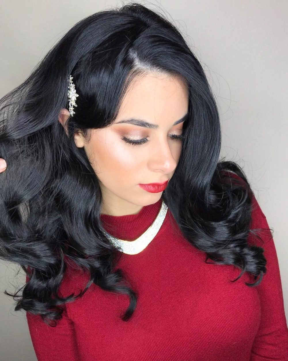 Vintage Glam hairstyle