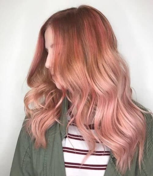 71 smokinghot rose gold hair color ideas for 2018