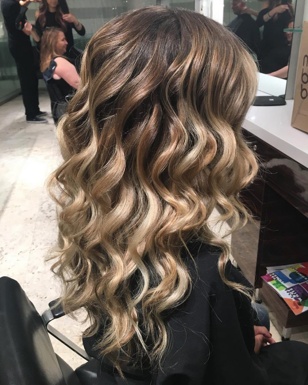 Prom hairstyles for long hair down loose curls Chickasha 9 ...