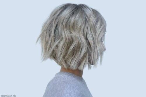 Wavy bob hairstyles