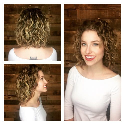 32 cutest curly bob hairstyles haircuts for women in 2018 for Acappella salon temecula