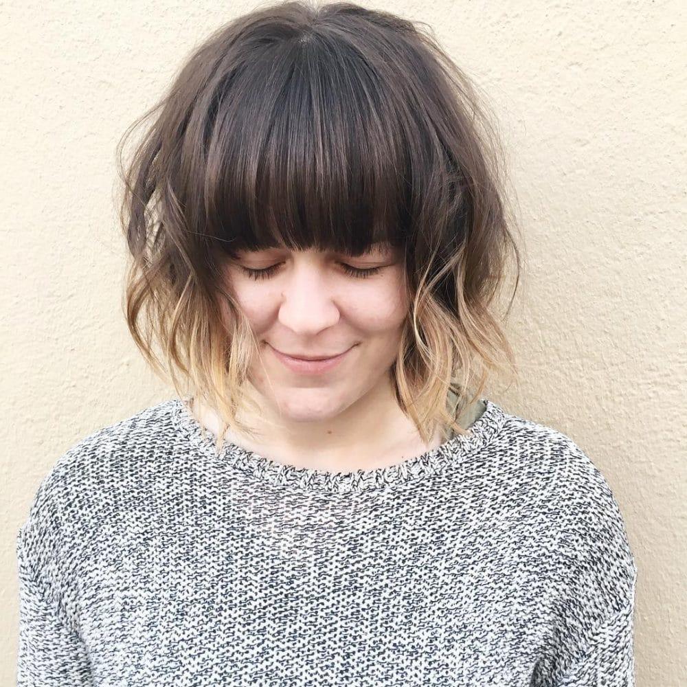 Wavy Shag hairstyle