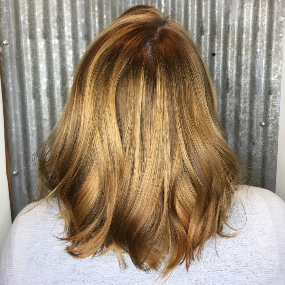 Wearable Warm Blonde hairstyle